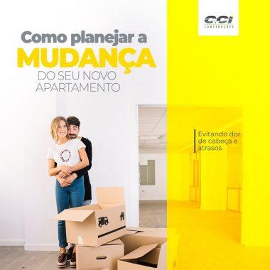Como planejar mudança de seu apartamento