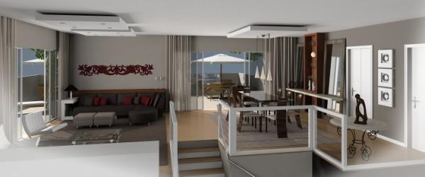Ibiza Tipo 02 - Duplex Superior - Sala
